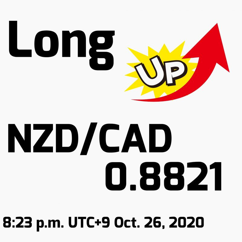 FX手法検証(第5週目):2020年10月26日(月)のトレード結果