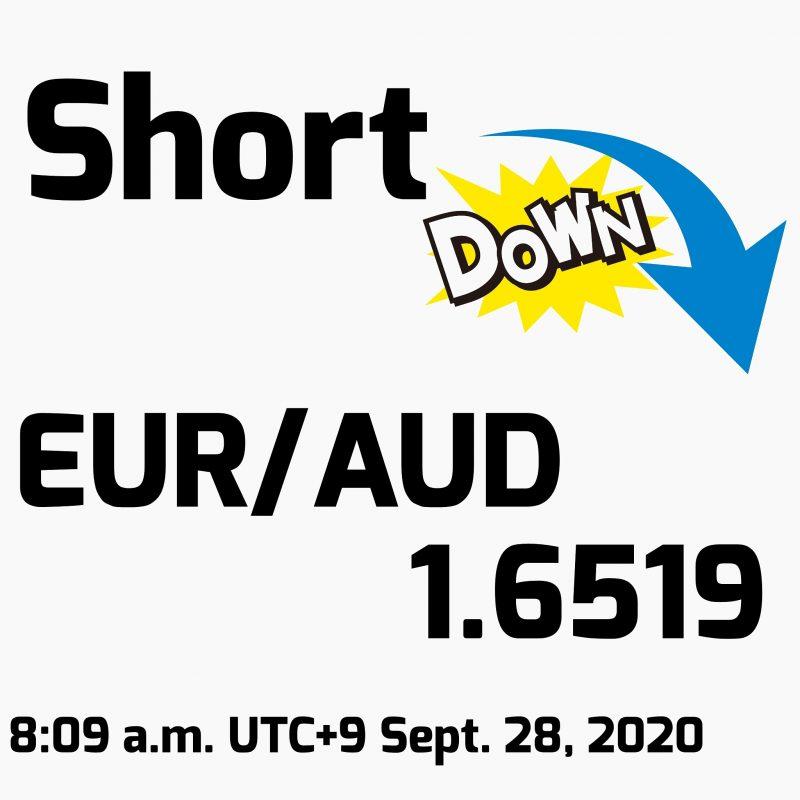 FX手法検証(第1週目):2020年9月28日(月)のトレード結果