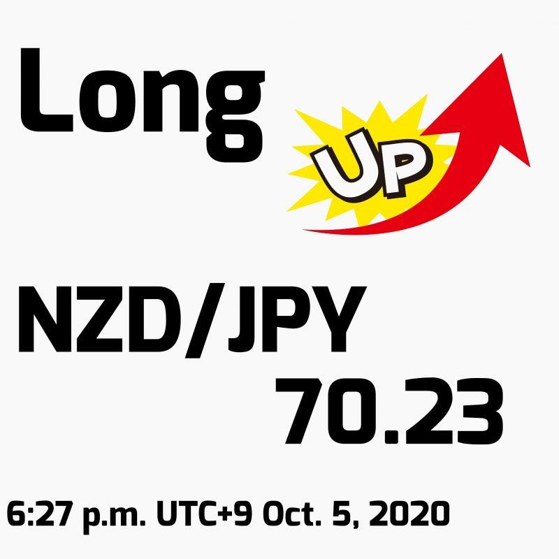 NZD/JPYロング