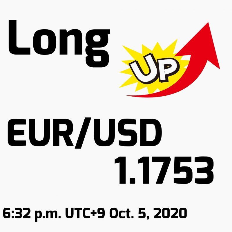 EUR/USDロング