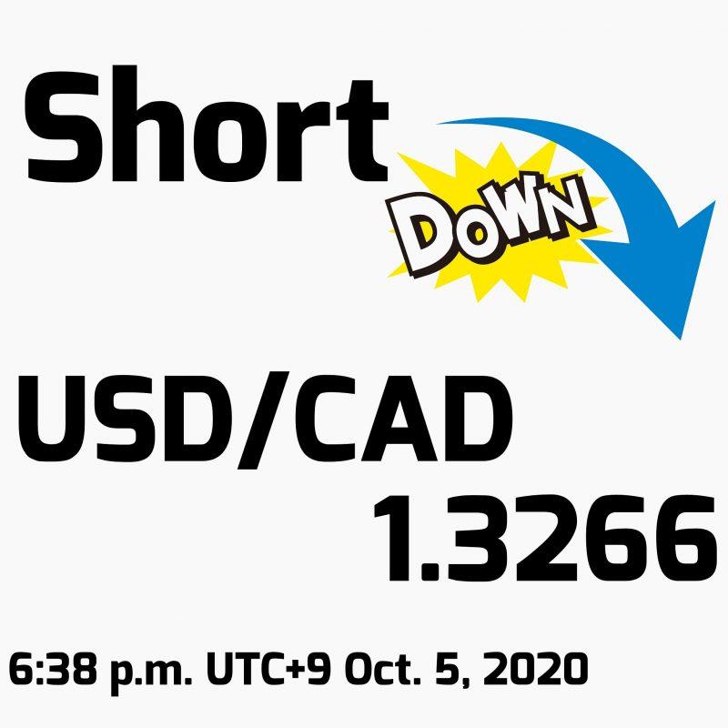 USD/CADショート