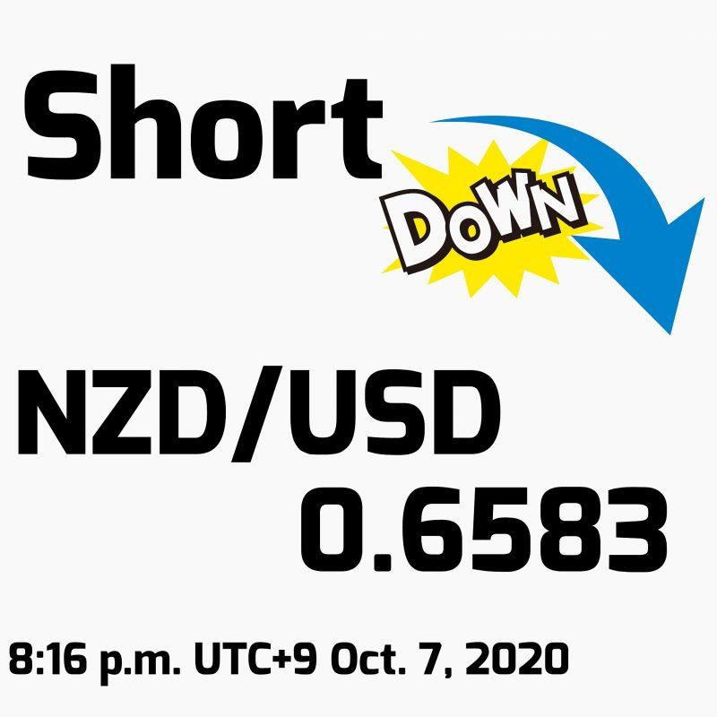 NZD/USDショート