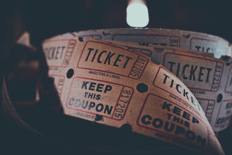 映画のチケットを紛失した場合の例